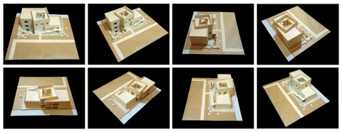Snapshots Around The Scale Model Of An Architecture Case Study